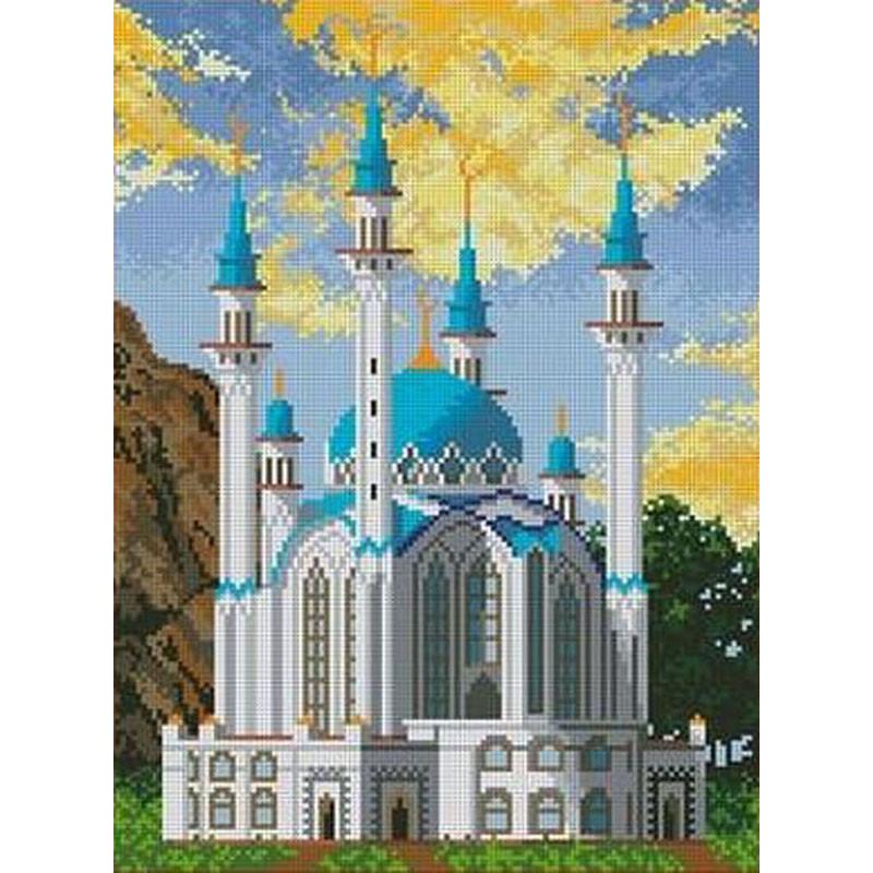 Вышивание крестиком картинки мечеть