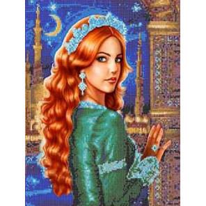 Султанша Хюррем Канва с рисунком для вышивки бисером