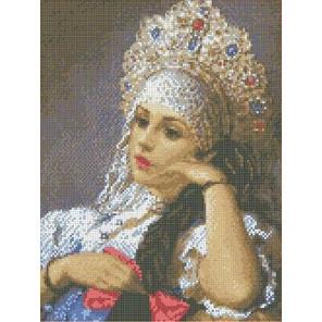 Василиса Канва с рисунком для вышивки бисером