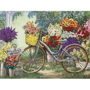 Цветы для любимой Набор для вышивки лентами