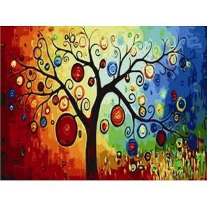 Дерево богатства Раскраска по номерам акриловыми красками на холсте Menglei