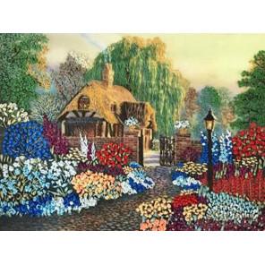 Цветы у дома Набор для вышивки лентами