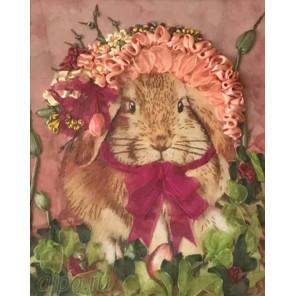 Нарядный кролик Набор для вышивки лентами