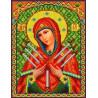 Богородица Семистрельная Набор для вышивки бисером Каролинка