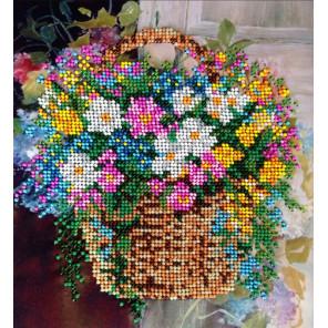 Полевые цветы Набор для вышивки бисером FeDi