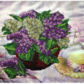 Сиреневое настроение Набор для вышивки бисером FeDi