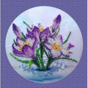 Весенние цветы Набор для вышивки бисером FeDi