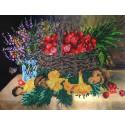 Натюрморт с грибами Набор для вышивки бисером FeDi