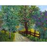 Весенний сад Набор для вышивки бисером FeDi