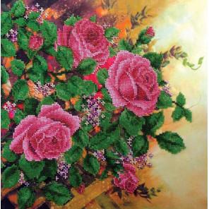 Вьющиеся розы Набор для вышивки бисером FeDi