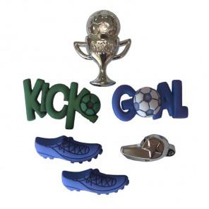 Soccer (Футбол)  Пуговицы декоративные Button Fashion