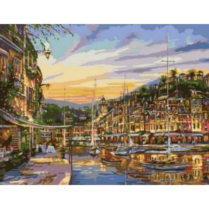 Сказочный вечер Раскраска картина по номерам на холсте MMC016