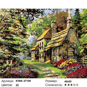 Летняя усадьба Раскраска картина по номерам на холсте KTMK-37104