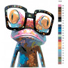 раскладка Хамелеон Раскраска картина по номерам на холсте