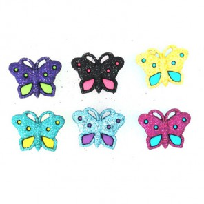 Butterflies Пуговицы декоративные Jesse James & Co