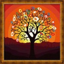 Дерево надежд Раскраска по номерам на холсте Hobbart