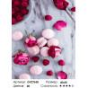 Количество цветов и сложность Макаруны и розы Раскраска картина по номерам на холсте GX27638