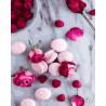 Макаруны и розы Раскраска картина по номерам на холсте GX27638