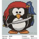 Пингвин Алмазная вышивка мозаика Painting Diamond