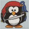 Пингвин Алмазная вышивка мозаика Painting Diamond BF090