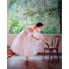 Балерина у окна Раскраска картина по номерам на холсте ZX 21774