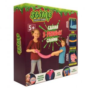 Внешний вид коробки Лаборатория Slime 3 в 1 Средний набор SS300-1