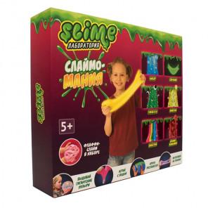 Внешний вид коробки Лаборатория Slime для девочек Большой набор SS300-5