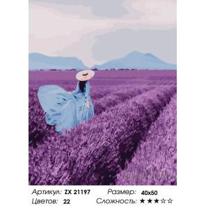 Количество цветов и сложность Вкус счастья Раскраска картина по номерам на холсте ZX 21197