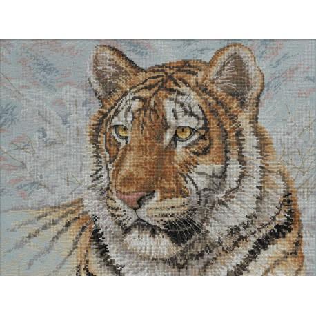 Сибирский тигр 45432 Набор для вышивания Bucilla