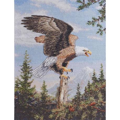 Орел 45478 Набор для вышивания Bucilla Счетный крест вышивка