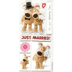 Свадьба Стикеры объёмные для скрапбукинга, кардмейкинга Docrafts