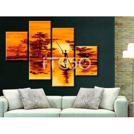 Африка Раскраски по номерам на холсте Iteso IT-N007 80х120 ...