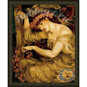 A sea spell. Dante gabriel rossetti Раскраска по номерам акриловыми красками на холсте Hobbart