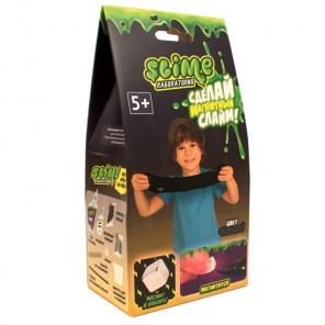 Внешний вид коробки упаковки Черный магнитный Slime Малый набор Лаборатория SS100-6