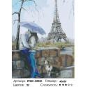 Количество цветов и сложность Столица любви Раскраска картина по номерам на холсте KTMK-50030