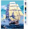 Раскладка К новым берегам Раскраска картина по номерам на холсте KTMK-65162