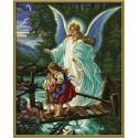 Ангел-хранитель Раскраска по номерам Schipper (Германия)