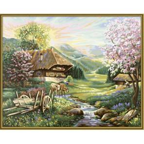 Весна Раскраска по номерам акриловыми красками Schipper (Германия) Картина по цифрам
