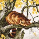 Рыжий охотник Набор для вышивания Палитра