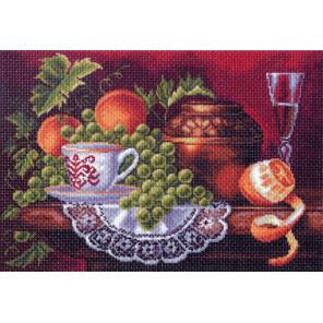 Фруктовый пир Канва с рисунком для вышивки Матренин посад