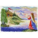 Весточка Канва с рисунком для вышивки Матренин посад