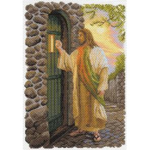 Иисус Канва с рисунком для вышивки Матренин посад