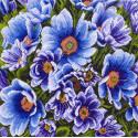 Весенний луг Канва с рисунком для вышивки Матренин посад