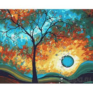 Необычный закат Раскраска картина по номерам на холсте Z-GX26146