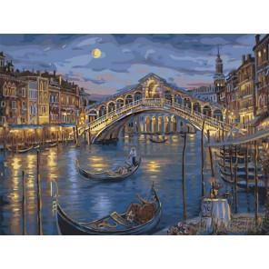 Полночь в Венеции Раскраска картина по номерам на холсте Z-EX5360
