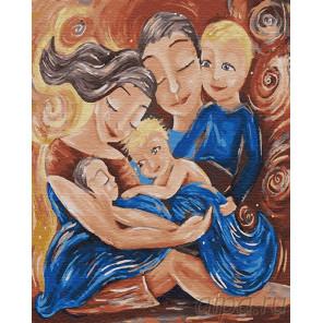 Семья Раскраска картина по номерам на холсте Z-GX23304