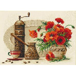 Кофе Алмазная вышивка мозаика Риолис АМ0012