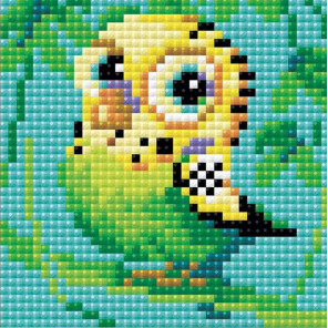 Попугай Алмазная вышивка мозаика Риолис АМ0021