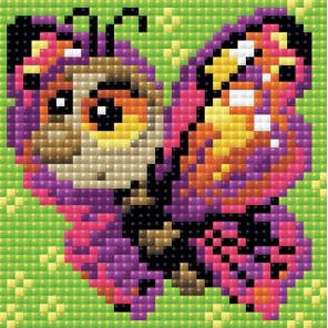 Бабочка Алмазная вышивка мозаика Риолис АМ0022