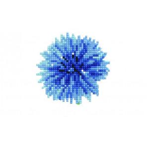 Астра Алмазная вышивка мозаика P28